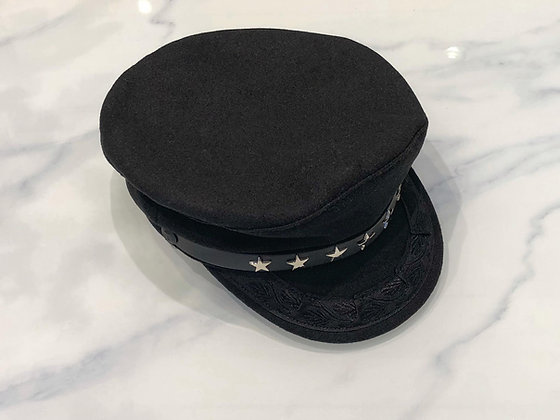 Star studded Captains Hat