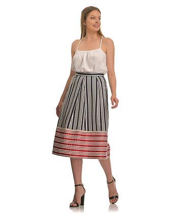 Avant Garde stripped skirt S198256