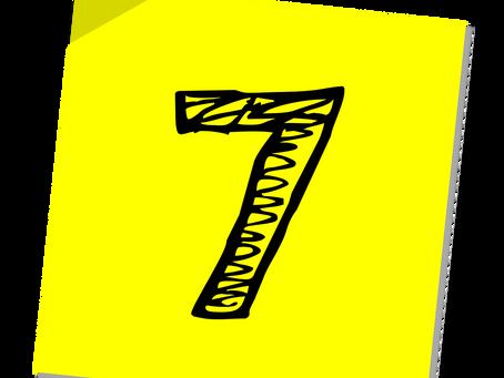 The Secret Sauce of Event Training: The Last 7