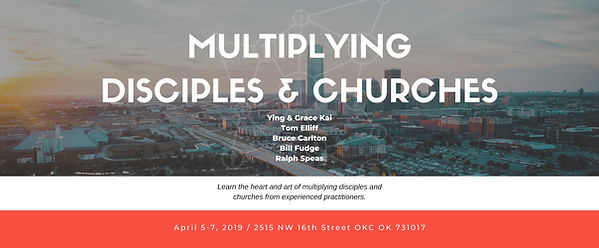 MULTIPLYING DISCIPLES & CHURCHES-Eventbr
