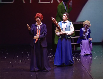 BARACCA E BURATTONI (The company of big puppets)