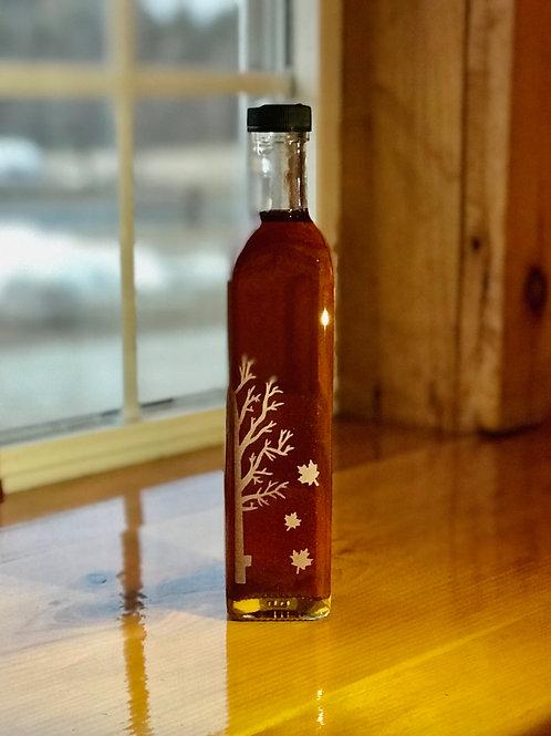 16.9 oz. Decorative Glass Bottle - 100% Pure Maple Syrup