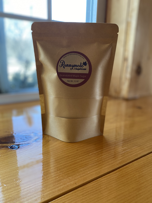 Granulated Maple Sugar - 12 oz bag