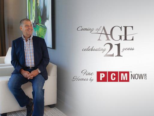 PCM Celebrates 21 Years