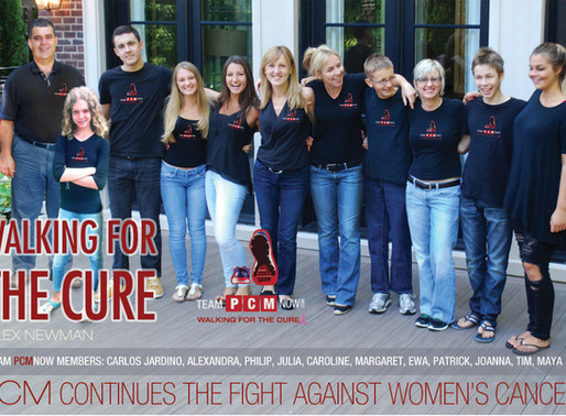 PCM continues the fight against women's cancers