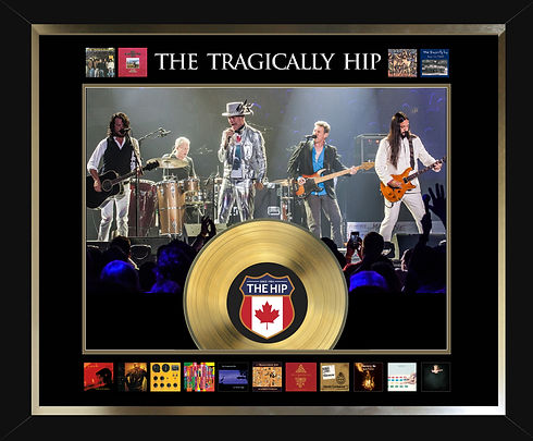 50-820 The Tragically Hip Live Album Col