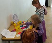 worship stations engage children during worship