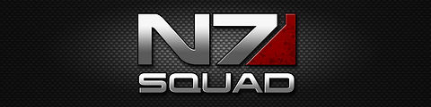 N7 Squad Logo Banner Mass Effect by Bing
