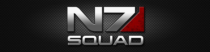 N7 Squad Logo Banner Mass Effect by Bing