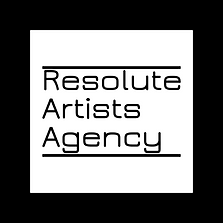 Resolute Artists Agency Small Logo White