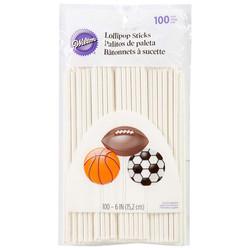 Wilton White 6-Inch Lollipop Sticks, 100