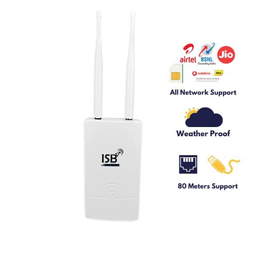 4g Outdoor router ( supports Jio, Airtel, Vodafone, Idea, BSNL)