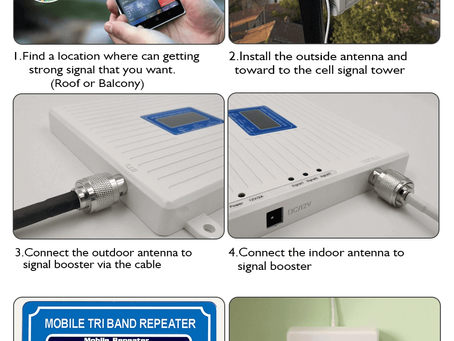 How to Install Signal Booster in Home or office ?