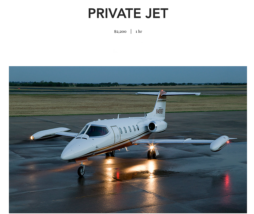 Fly in our Private Jet to Los Cabos, Mexico