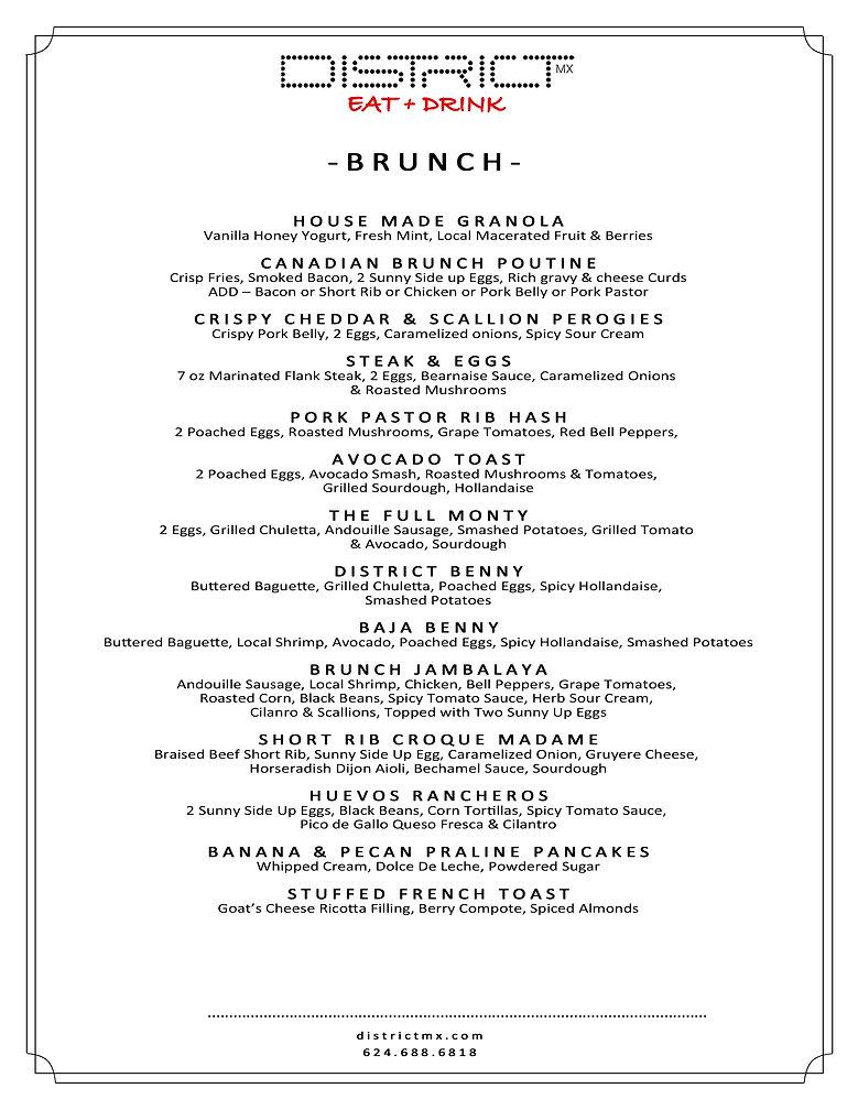 Bruch menu district