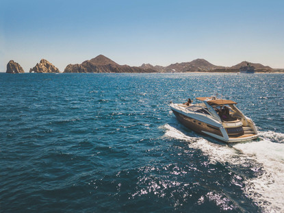 Sunset cruise in Los Cabos