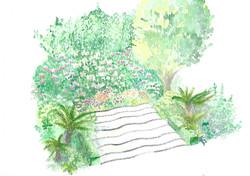 Conception du jardin d'une copropriété à PARIS