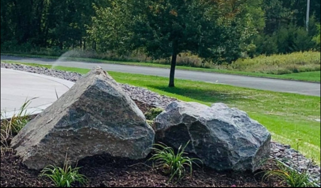 Silver Mist Boulders