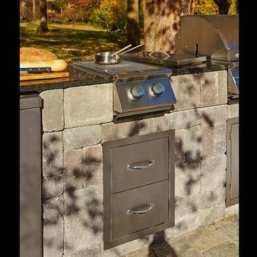 Side Burner Cabinet