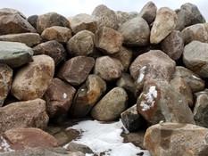"""Rust Boulders 8""""-3'"""