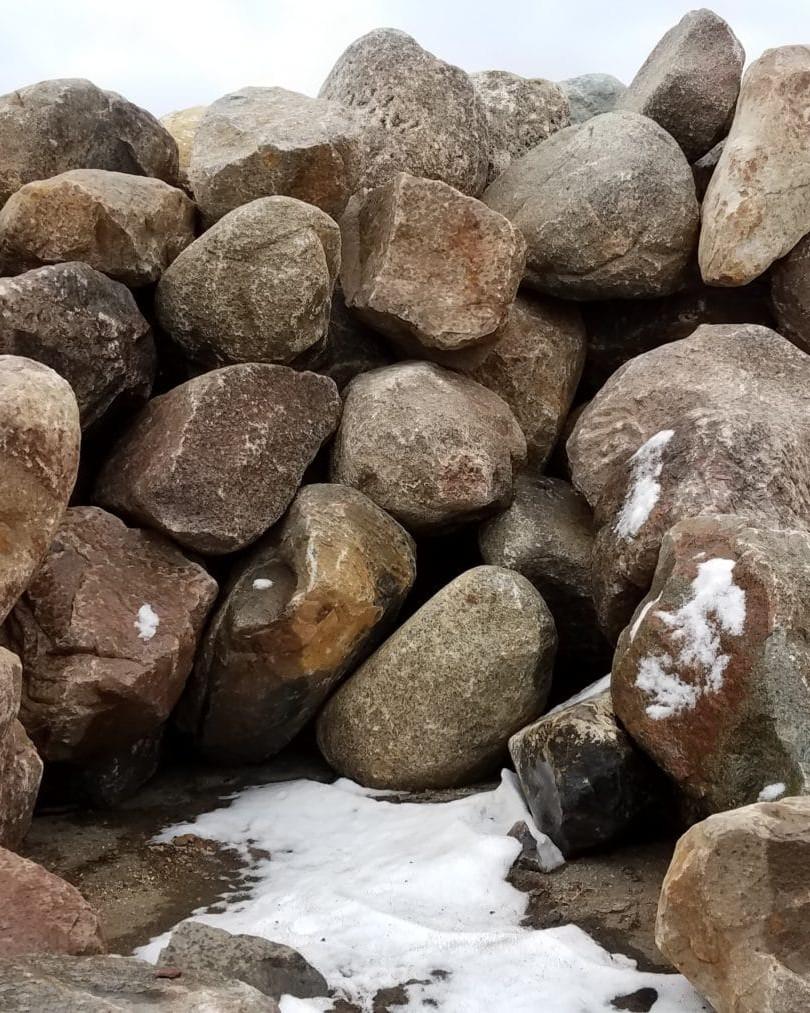 Rust Boulders