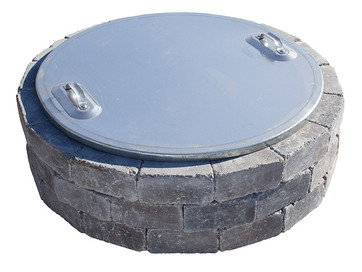 Fire Pit Cover (non-slotted)