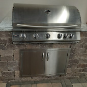 "40"" Sizzler Grill Cabinet"