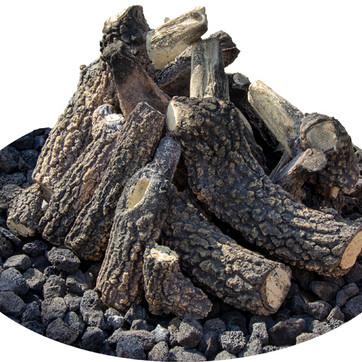 Ceramic Gas Log Set