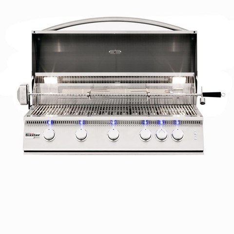 "Sizzler Pro 40"" With Rotisserie"