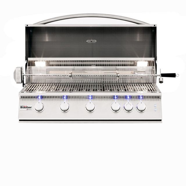 """Sizzler Pro 40"""" With Rotisserie"""