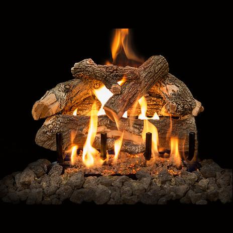 Gas Burning Log Set