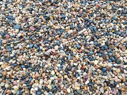 "Pea Rock 3/4"" x 5/8th"