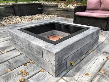 Barn Plank Fire Kit