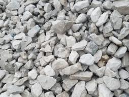 """White Limestone 1.5"""""""