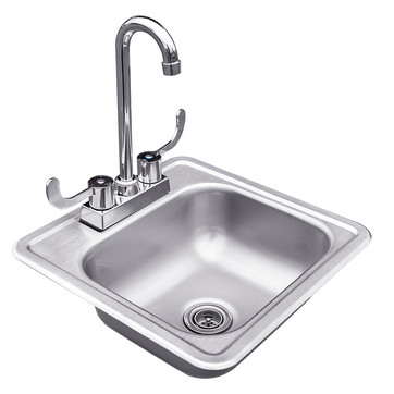 Prep Cabinet Sink