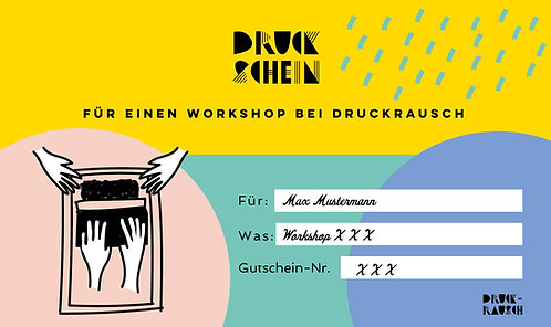 Workshop-Gutschein