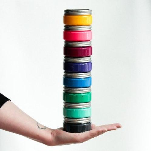 Druckfarbe, deckend, für Textil + Papier