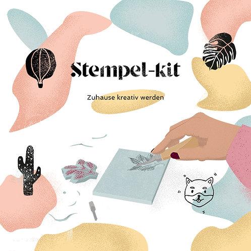 Druckrausch-Stempel-Kit