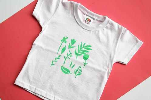 Kinder T-Shirt mit Floral Motiv