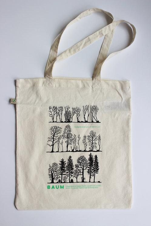 Turnbeutel mit Baum Motiv