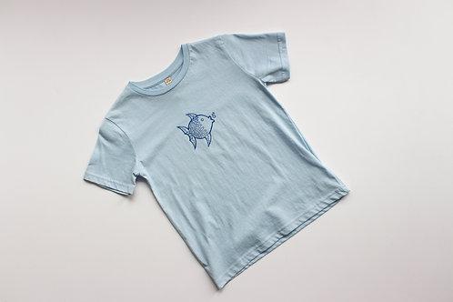 Kinder T-Shirt mit Fisch Motiv