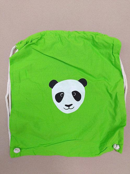 Turnbeutel mit Panda Motiv