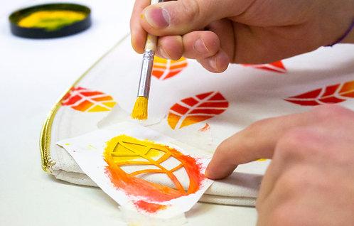 Set wasserfestes Stencilpapier