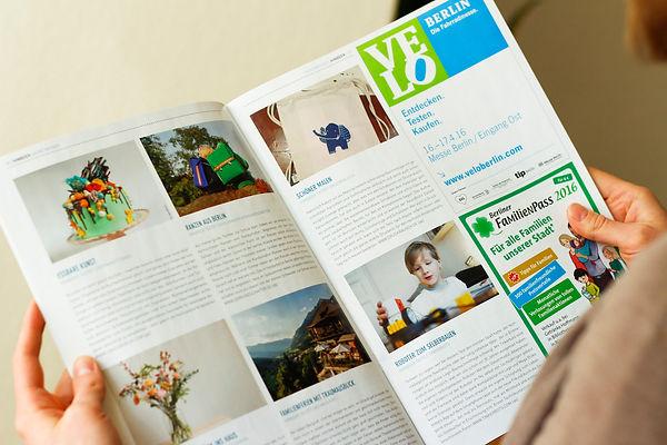 Wir sind im Himbeer-Magazin