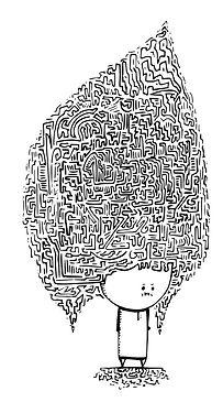 deine Zeichnung als Schablone