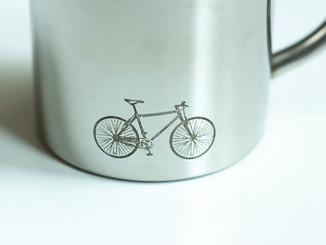 Bechersignatur - Fahrrad