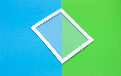 Siebdruckrahmen - für transparente Farben
