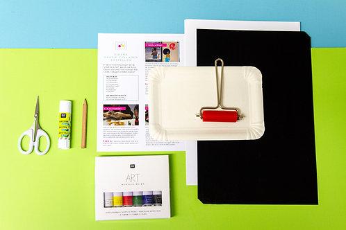 Grafik-Collagen DIY-Box