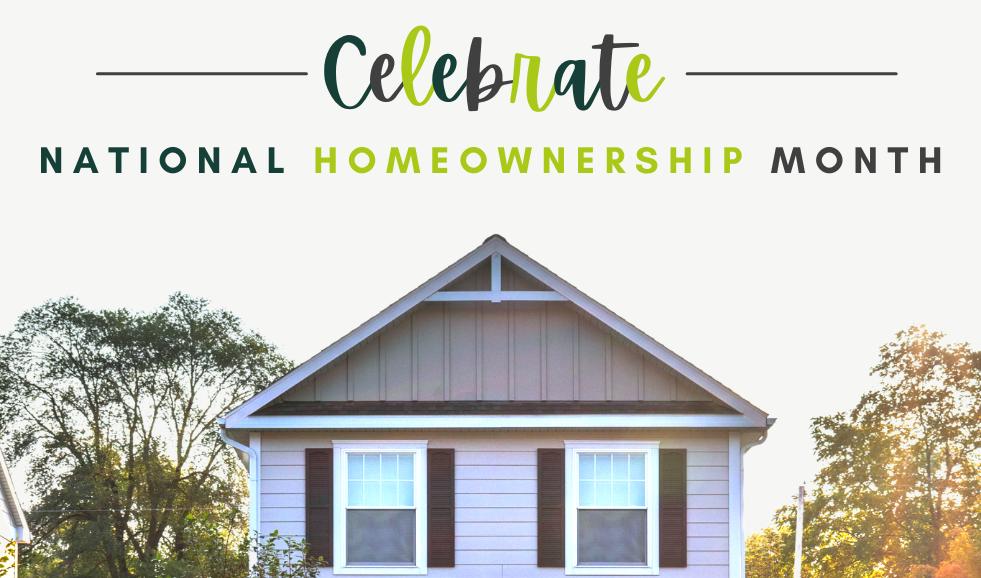 Homeownership Month  Banner Image v.4.pn