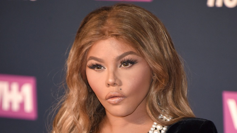 Image result for lil kim face